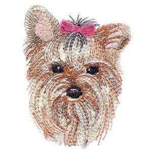 yorkie embroidery designs yorkie and embroidery on