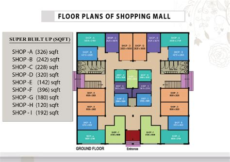 layout of mayfair mall larica green valley mall guwahati larica group