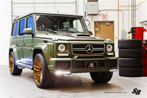 green mercedes benz military green g 63 amg with unassorted wheels autoevolution