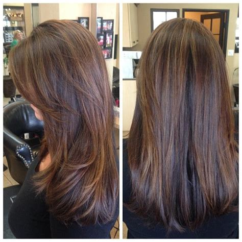 hair color red front blond back of head 17 best ideas about brunette highlights on pinterest