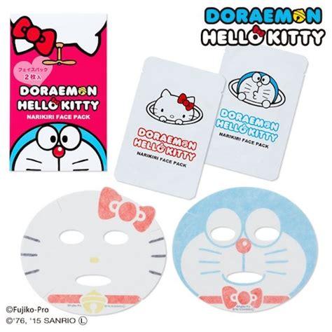Sanrio Japan Narikiri Hello Blue Mask doraemon and hello narikiri packs japanese characters skin care mask ebay