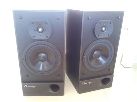 mirage m 490 canada made stereo big bookshelf speaker used