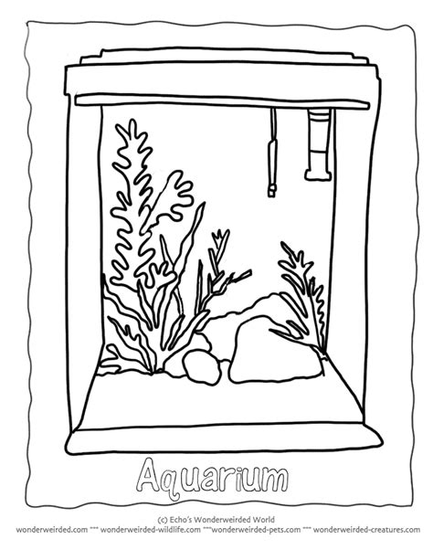 Fish Tank Coloring Pages Az Coloring Pages Fish Tank Coloring Pages