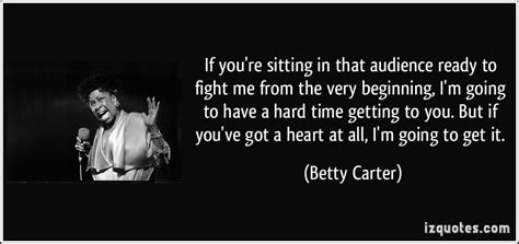 Ive Got To Start Betty by If You Re Sitting In That Audience Ready To Fight Me From