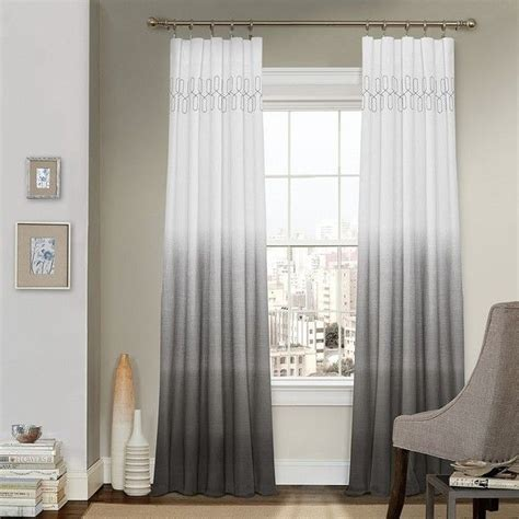 Curtains Gray Decor 25 Best Ideas About Grey And White Curtains On Pinterest Master Bedroom Furniture Inspiration