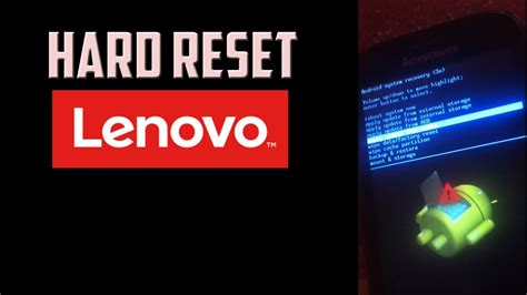 youtube reset android how to hard reset lenovo android phone password pattern