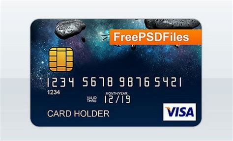 Make Your Own Credit Card Template 12 Free Credit Card Design Psd Templates