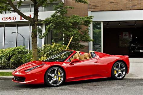 Ferrari Italia Convertible by Red Ferrari 458 Convertible Spider Google Search