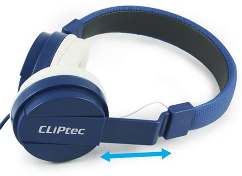 Headset Cliptec cliptec foldable stereo headset headp end 4 4 2018 2 38 pm