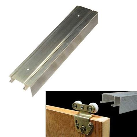 Sliding Countertop Hardware by Johnson Hardware 2200f Series 72 Quot Bypass Fascia Track 2200f72 Cabinetparts