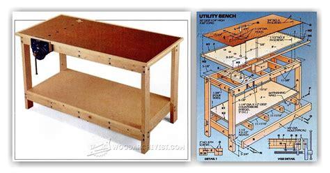 garage work bench plans garage workbench plans woodarchivist