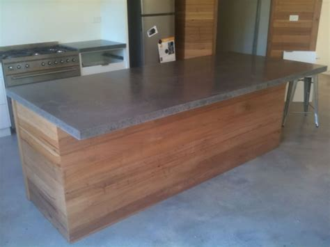 cement bench tops concrete table large concrete benchtops melbourne benchmark benchtops
