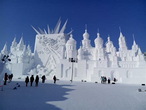 harbin ice festival the harbin ice and snow sculpture festival is a feat of