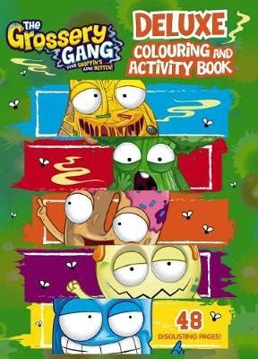 Grossery Gang Deluxe Colouring Amp Activity Book The