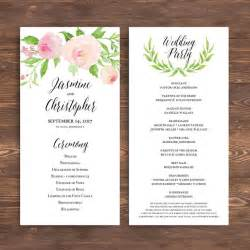 Wedding Fan Program Template by Best 25 Wedding Ceremony Program Template Ideas On