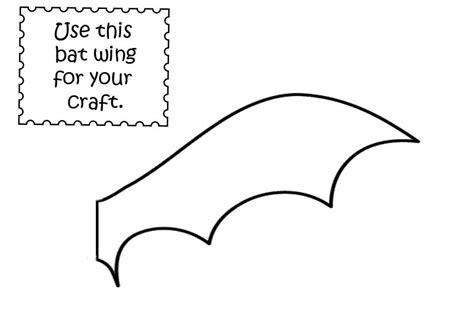 bat template bat template wings www pixshark images galleries