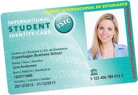 isic card template basket international student identity card