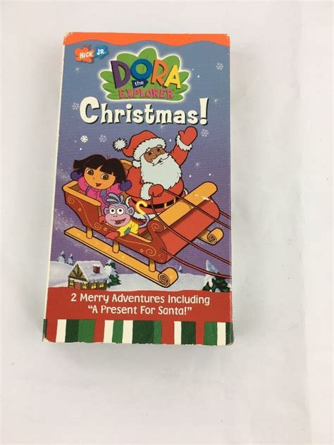 dora the explorer doras christmas vhs 2002