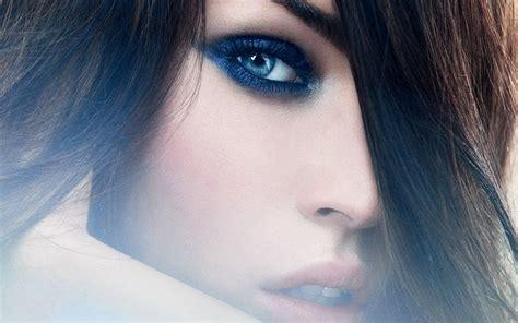 wallpaper blue eyes hd mag hd wallpapers megan fox blue eyes