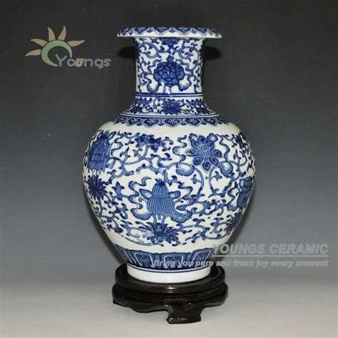 Antique Style Blue And White Vases In Vases From Home Garden On Aliexpress Alibaba Decorative Antique Blue And White Ceramic Porcelain Vases Buy Vase Ceramic Blue White