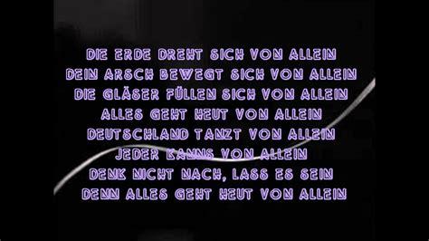 candela lyrics allein culcha candela lyrics