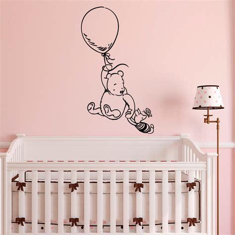 Winnie The Pooh Nursery Wall Decals Winnie The Pooh Wall Decal Sticker Classic Winnie The Pooh