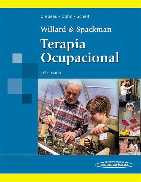 libro terapia cortada a la willard spackman terapia ocupacional