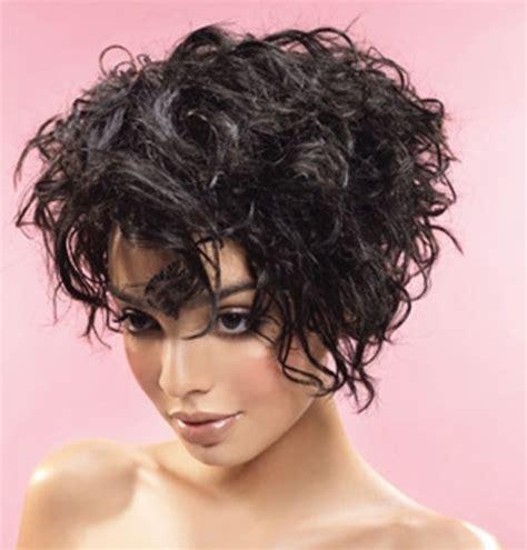 short hairstyles  thick curly hair crazyforus