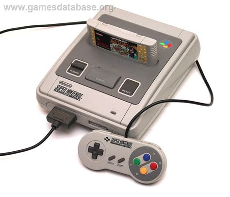 console nintendo about nintendo snes database