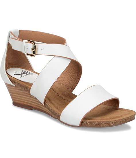 sofft sandals sofft vita sandal wedges dillards