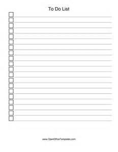 checkbox list openoffice template