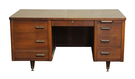 Mid Century Desk By Jofco Olde Good Things Mid Century Office Desk