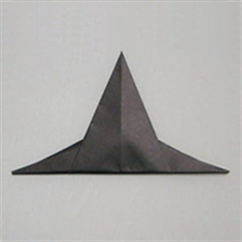 Origami Witch Hat - make origami