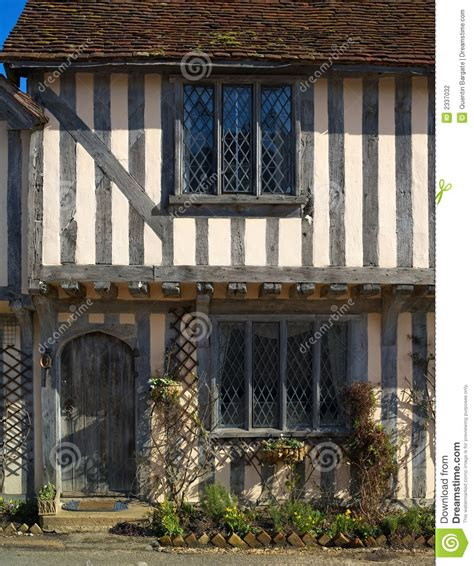 Half Timbered House Plans by Ancient Half Timbered Cottage Stock Photo Image 2337032