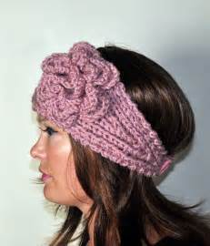 crochet headband earwarmer headwrap ear warmer crochet knit choose co