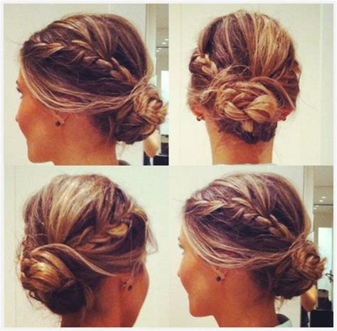 formal hairstyles messy bun with braid hair to try braided bun hairstyles pretty designs