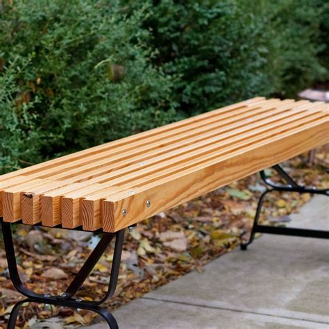 wood patio benches outdoor wood bench patio accent garden deck porch steel