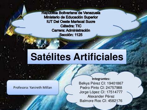imagenes satelitales y su uso satelites artificiales de venezuela