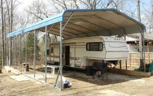 Metal Carport Shelters Metal Rv Carports Rv Shelters Alan S Factory Outlet