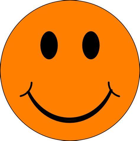 happy clipart happy orange clip at clker vector clip