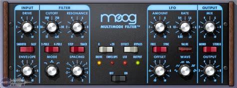 best plugins for house music universal audio moog multimode filter the test moog