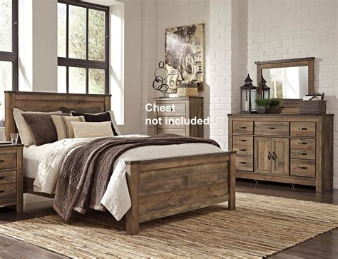 signature design  ashley trinell queen bedroom group royal furniture bedroom groups