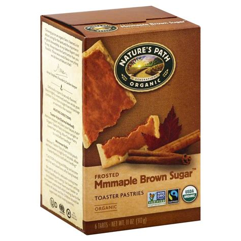 Natures Path Toaster Pastries nature s path organic toaster pastries strawberry frosted 11 ounce