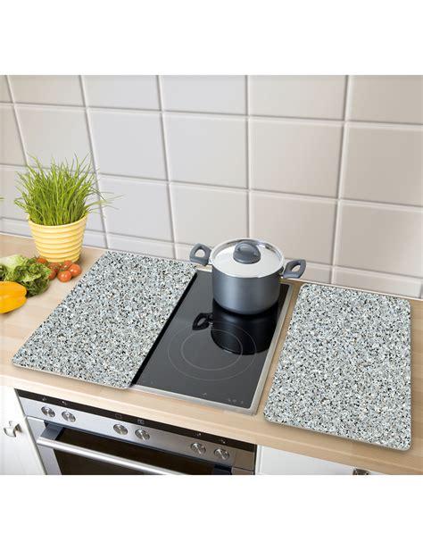 plaque granit cuisine plaques de protection en verre 171 granit 187 2 pi 232 ces