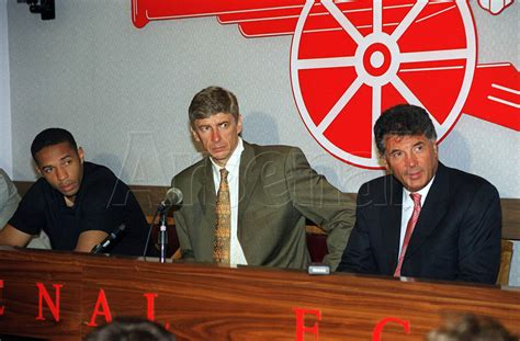 from signing henry to dein s departure the 20 defining moments of pictures henry signs for arsenal news arsenal com