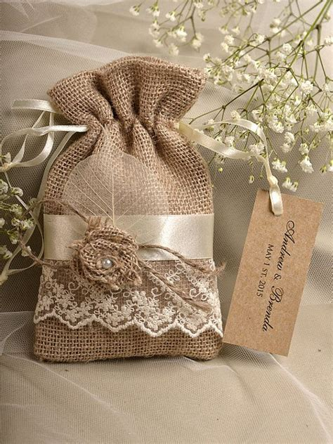 wedding favor burlap bags burlap wedding ideas archives deer pearl flowers