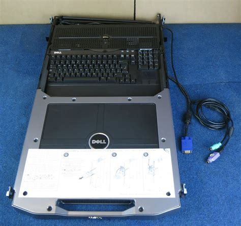 Dell Rack Console by Dell Poweredge 17p Hp535 1u Rack Mount Console Kvm 17 Tft