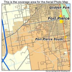 Fort Pierce Florida Map by Aerial Photography Map Of Fort Pierce South Fl Florida
