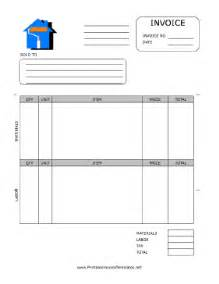 invoice template for painters house painting invoice template