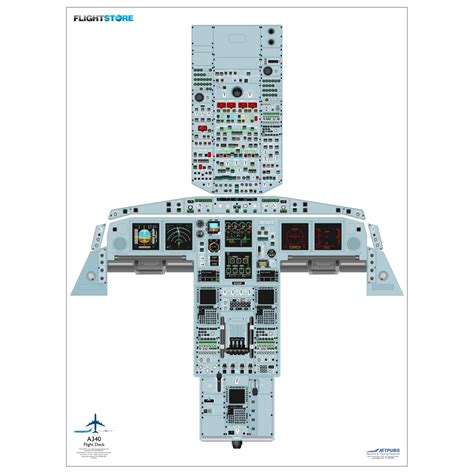 a320 cockpit layout poster download airbus a340 airliner cockpit poster